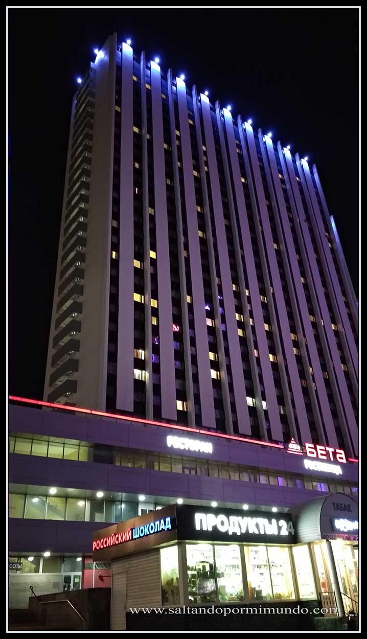 Nuestro hotel en Moscú