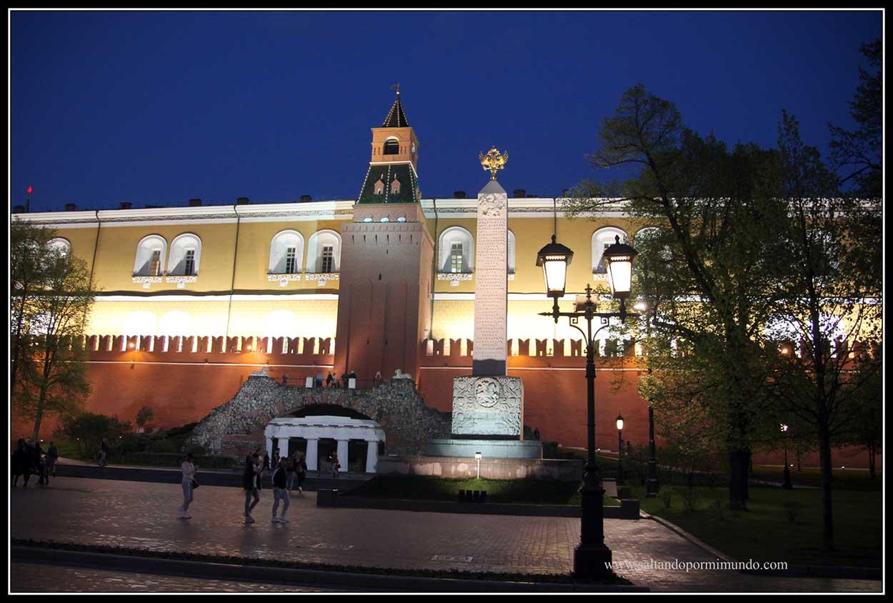Kremlin iluminado