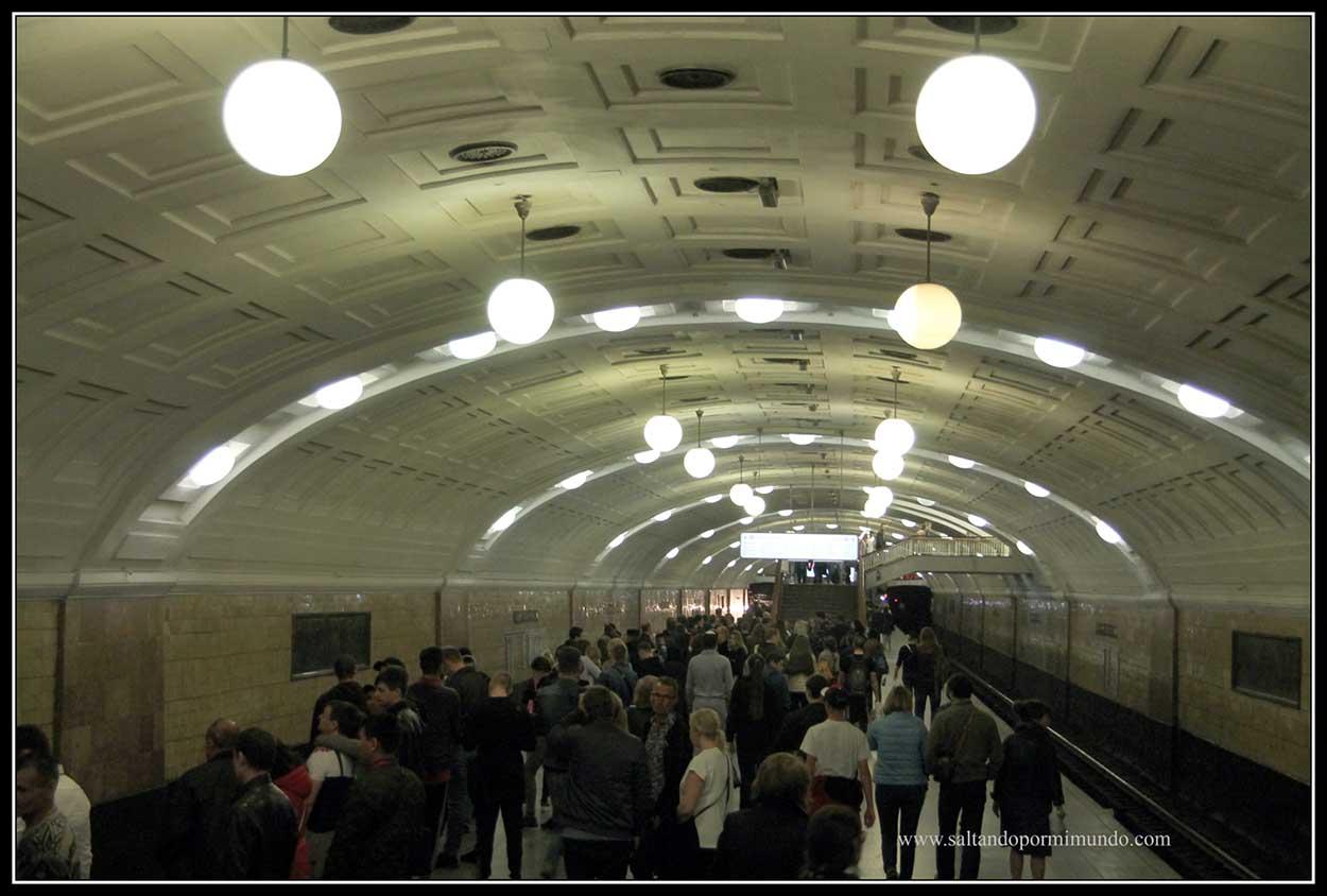 Metro biblioteca Imeni Lenina