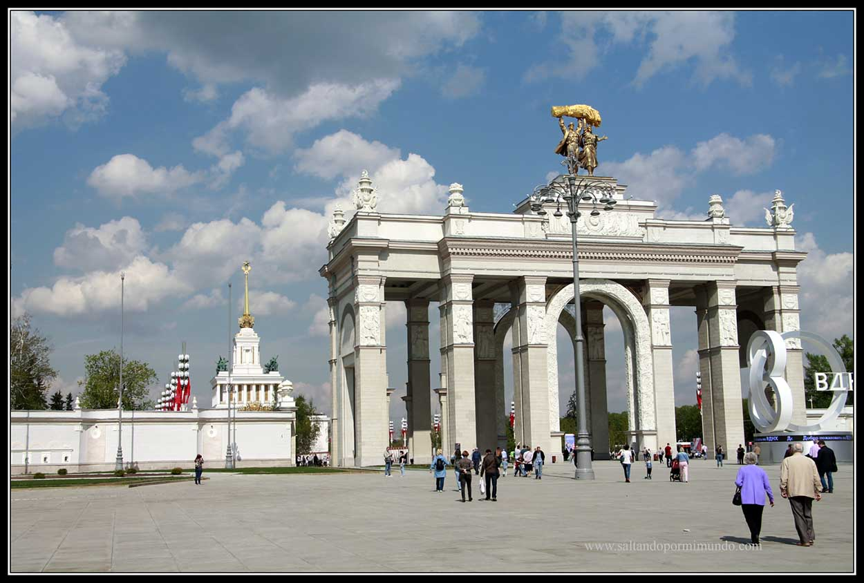 Arco del Triunfo de Moscú
