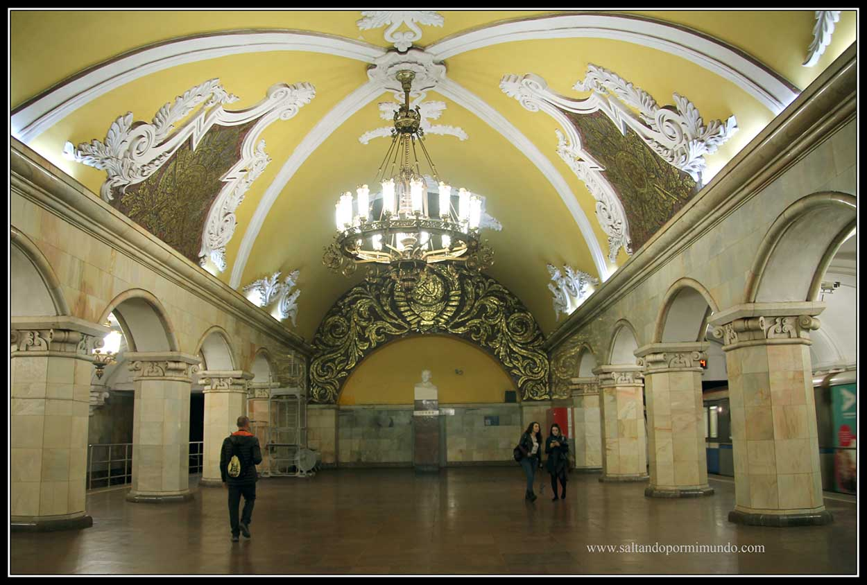 Estación Komsomolskaya