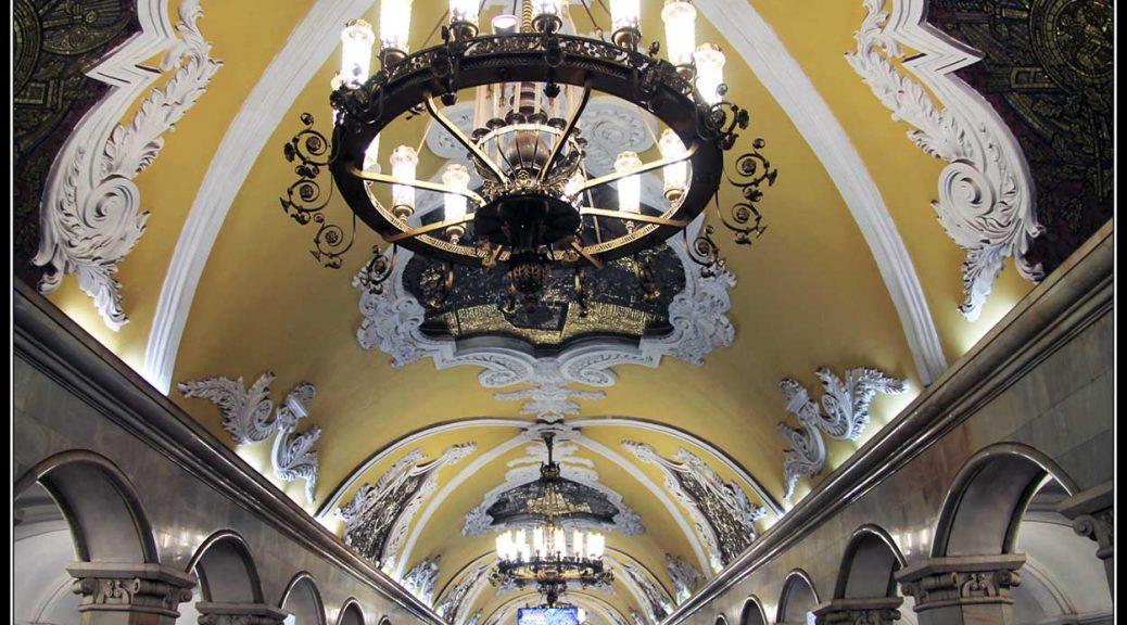 Las estaciones más bonitas del Metro de Moscú.