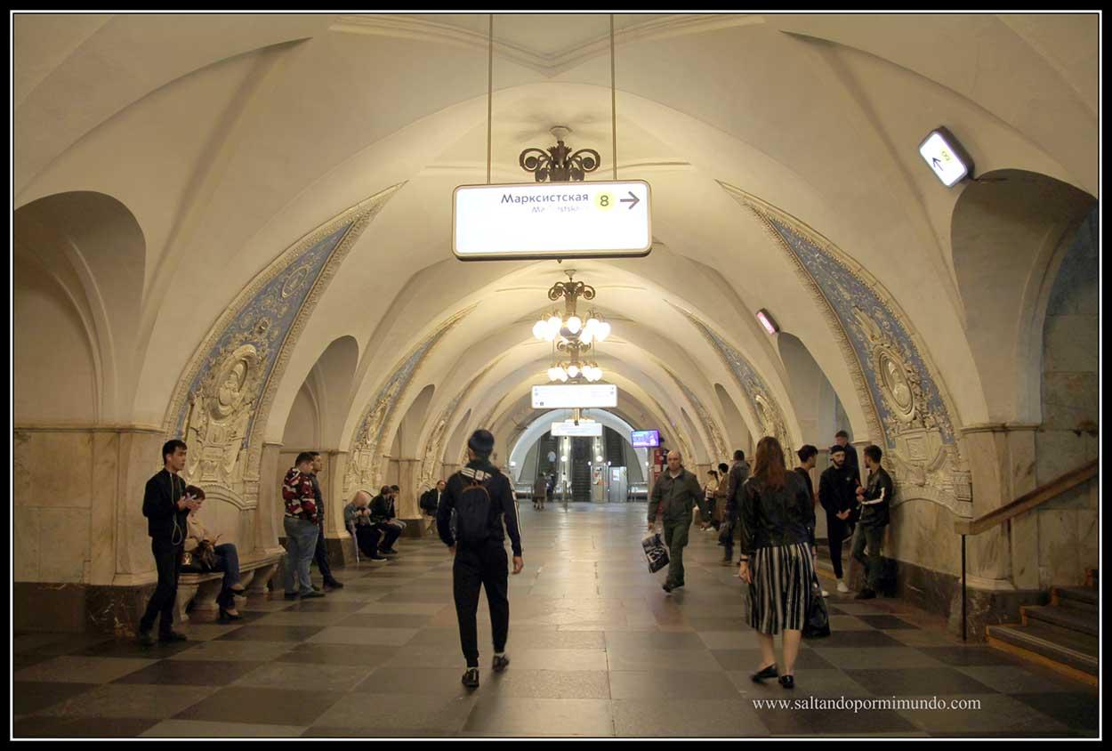 Metro Taganskayaii
