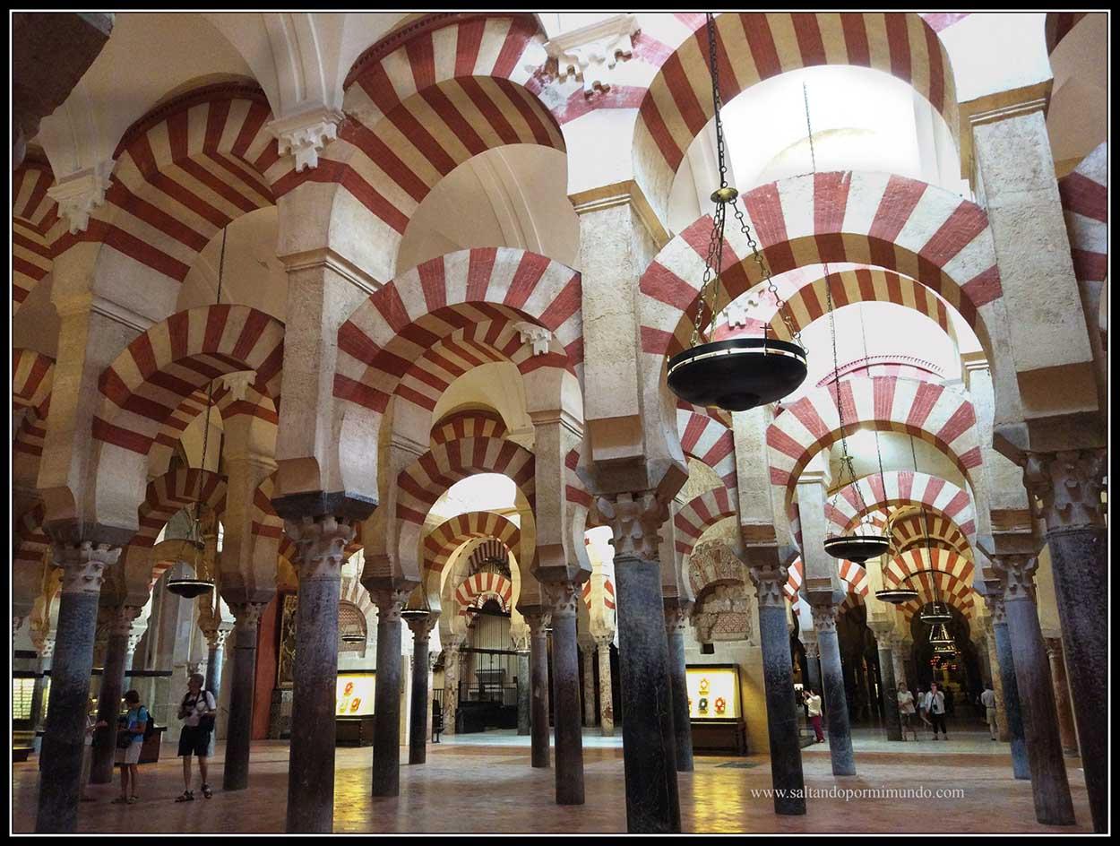 Interior de Mezquita de Córdoba