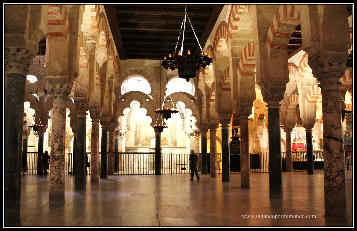 Interior Mezquita de Córdoba