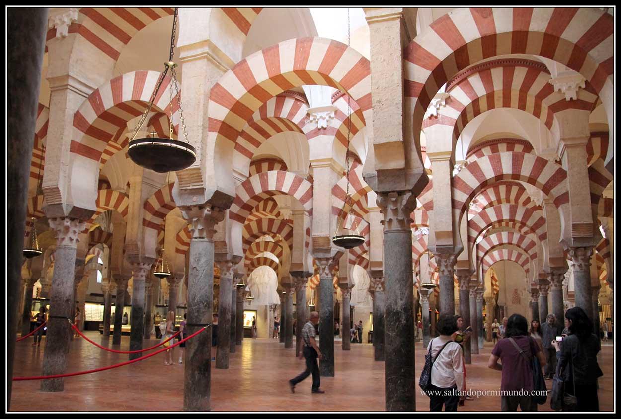 Arcos de La Mezquita Catedral de Córdoba