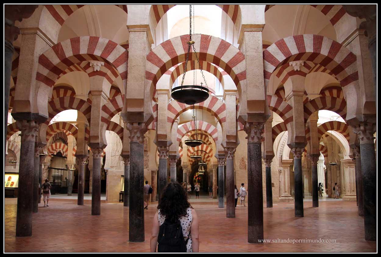 Interior de la Mezuita de Córdoba