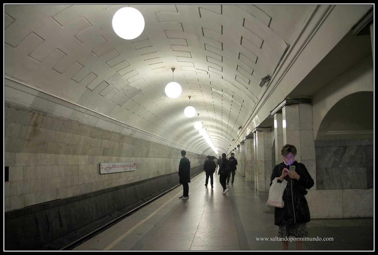 Estaciones bonitas en Moscú
