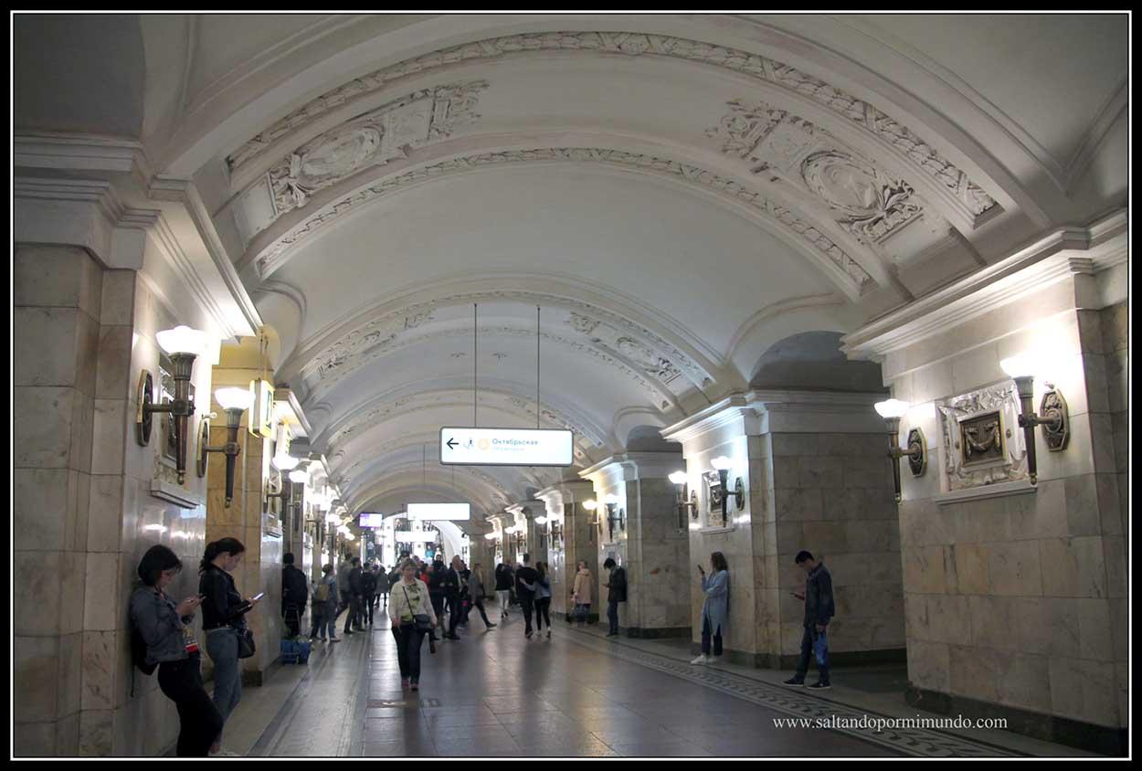 Estación de Oktyabrskaya