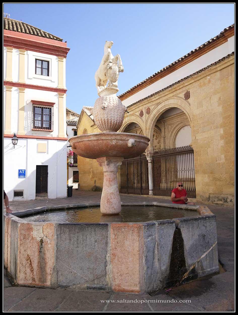 Fuente del Potro en Córdoba
