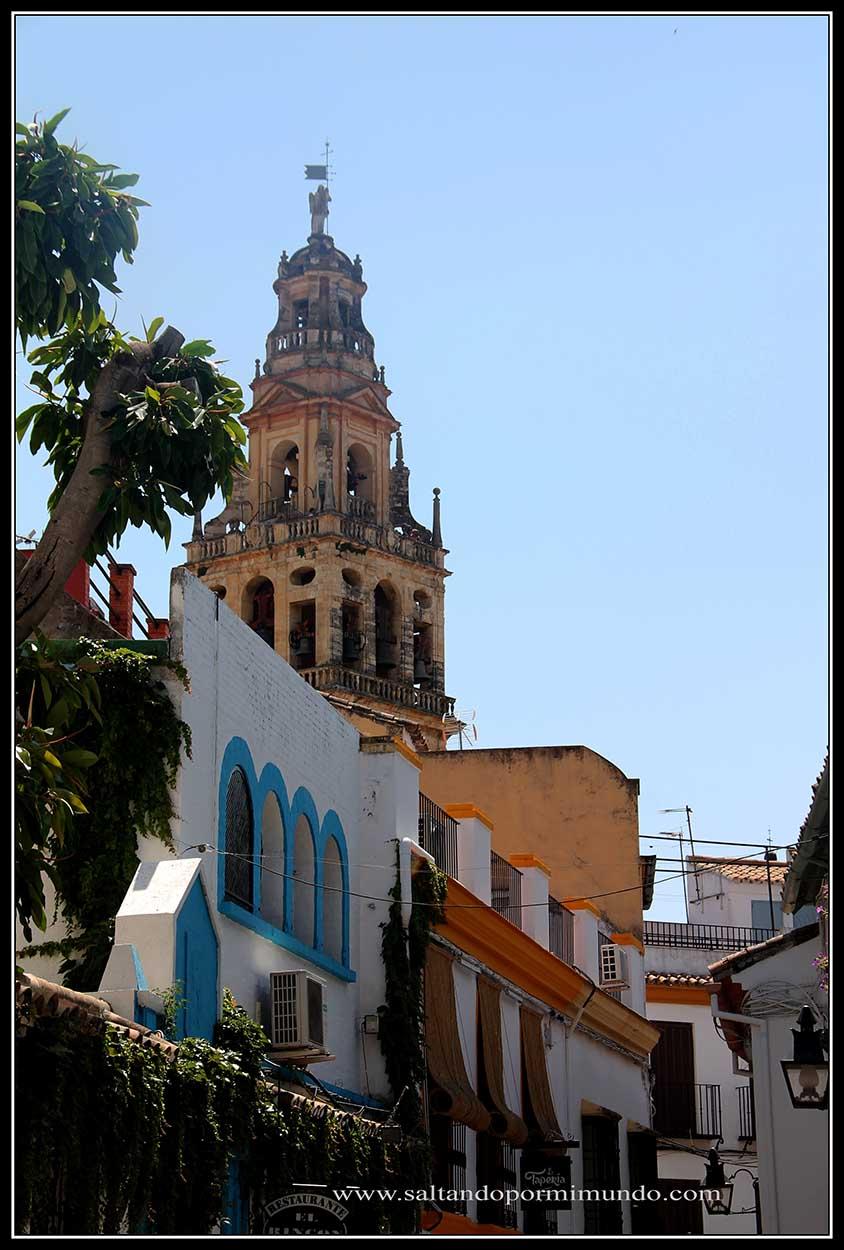 La torre de la Mezquita desde cualquier rincón de Córdoba