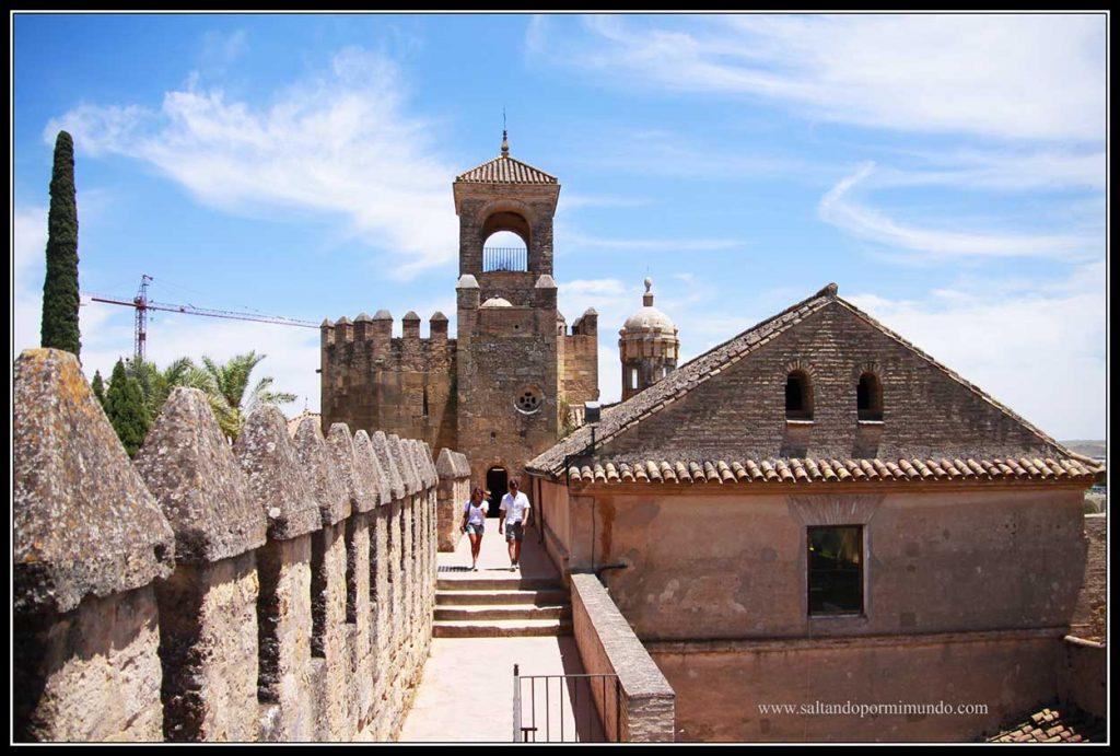 Interior Alcázar de los Reyes Cristianos de Córdoba