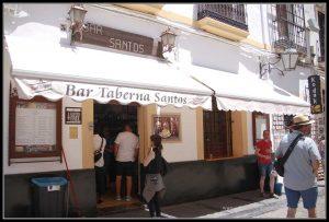 Comer en Córdoba. Bar Taberna Santos