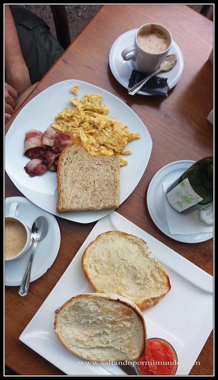 Desayuno Cordoba