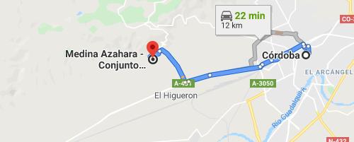 Cómo llegar a Medina Azahara desde Córdoba