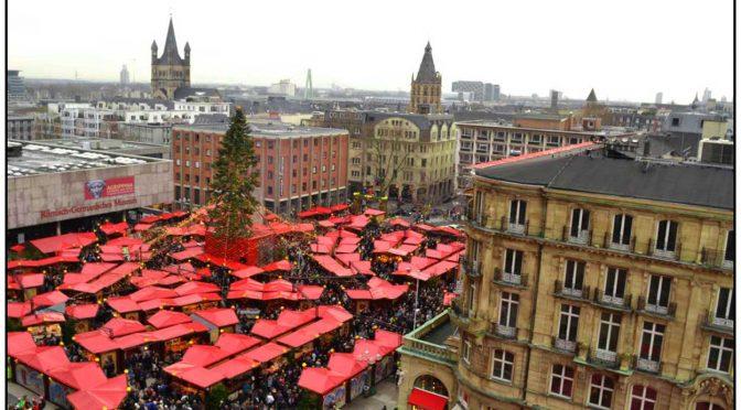 Una foto, una historia: Mercado de Navidad de Colonia