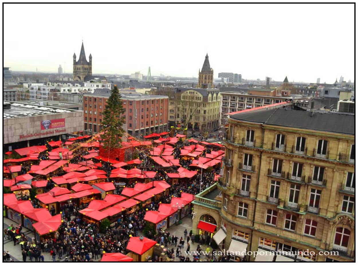 El Mercado Navidad más bonito de Colonia, El Mercadillo de la Catedral de Colonia