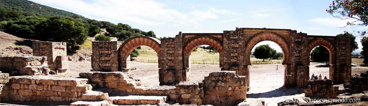 Antigua entrada a Medina Azahara