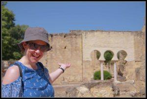 Una de las puertas de Medina Azahara