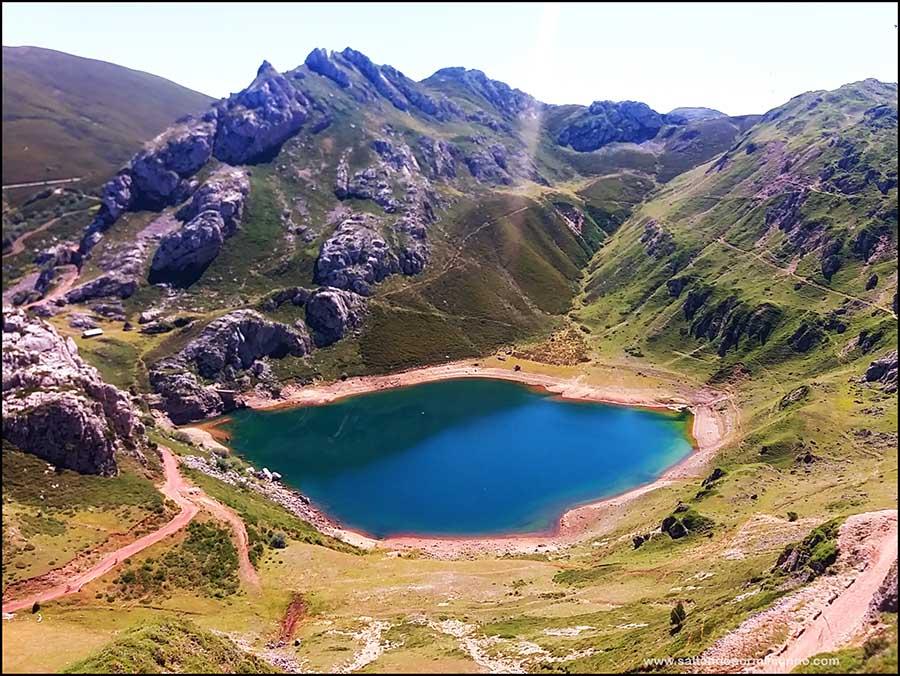Lagos de Saliencia, los más bonitos de Asturias.