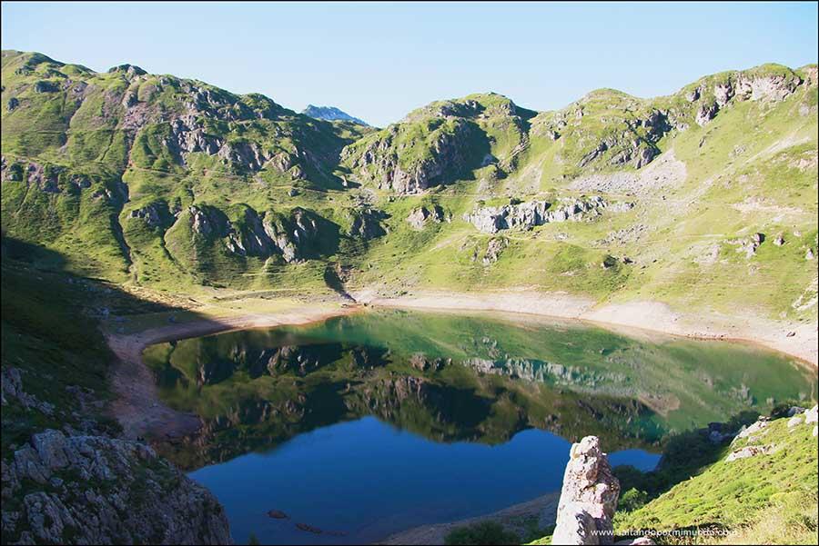 Lago de la cueva, Los Lagos de Saliencia, Asturias