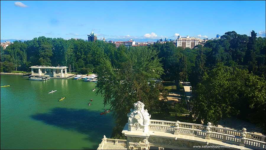 Qué ver en el Retiro, Mirador de Alfonso XII