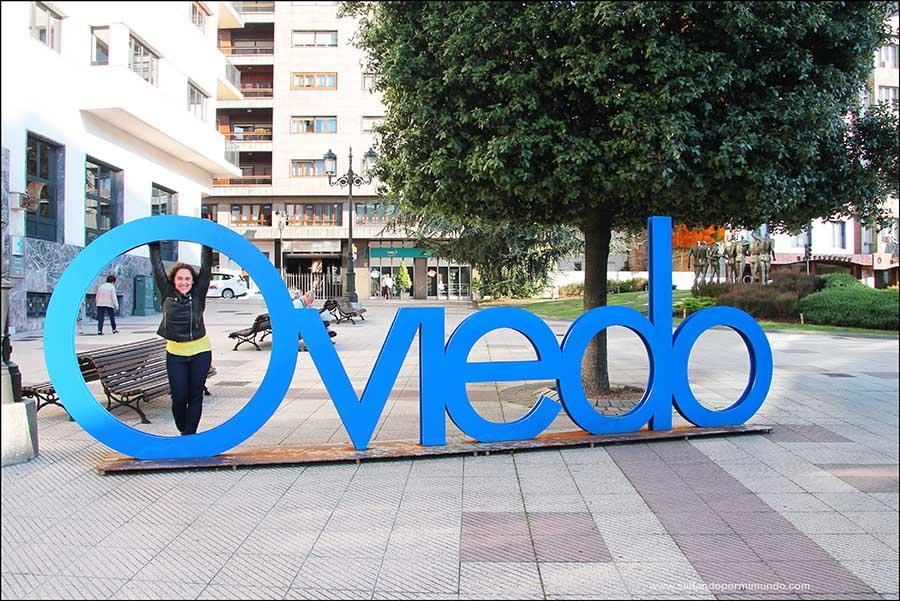 Qué ver en Oviedo en uno o dos días. Letras de Oviedo