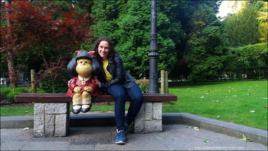Escultura de Mafalda
