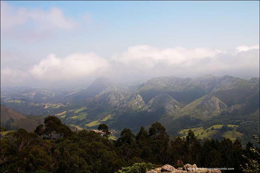 Las mejores vistas de Asturias desde el Mirador del Fitu