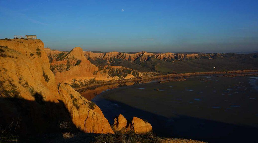 Barrancas de Burujón, un lugar de otro planeta en Toledo