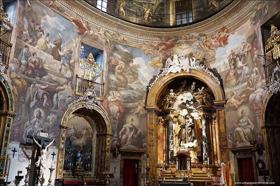 La capilla Sixtina en Madrid | Una joya del barroco escondida a espaldas de la Gran Vía