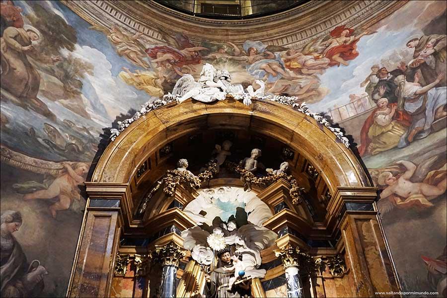 Visitar la Iglesia de San Antonio de los Alemanes, la Capilla Sixtina en Madrid