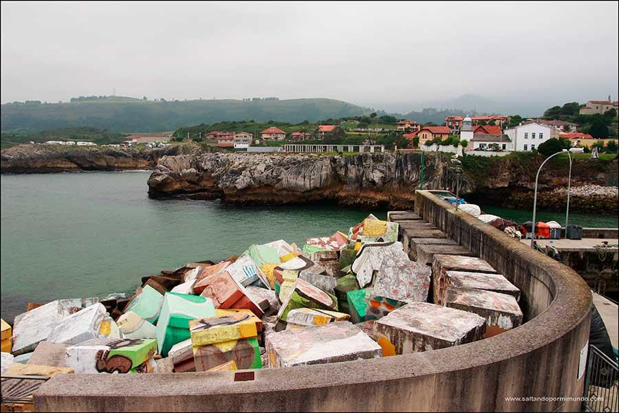 Cubos de la Memoria de Llanes y breve pincelada a Gijón