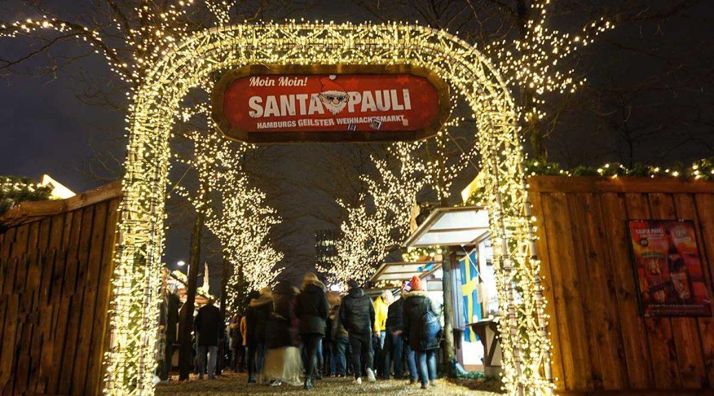 Llegada a Hamburgo y visita al Mercadillo navideño más canalla de Hamburgo