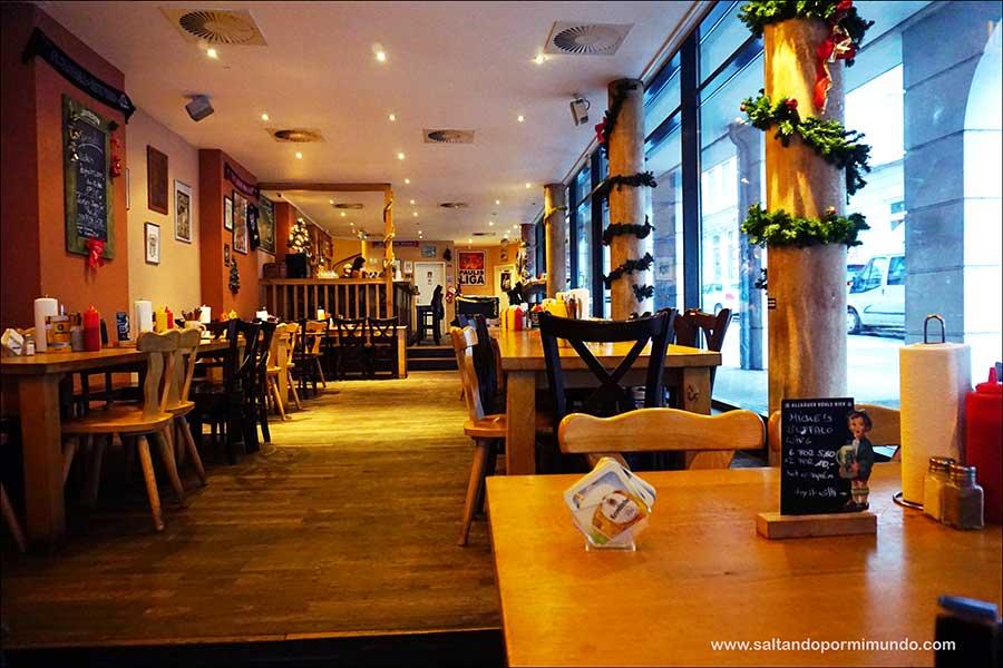 Dónde comer en Hamburgo