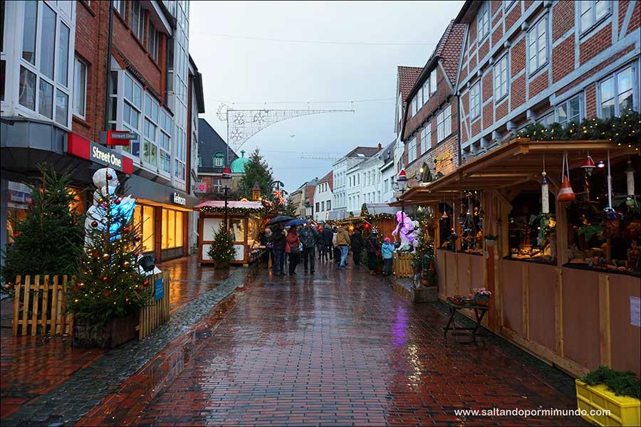 Buxtehuder Weihnachtsmarkt. Qué ver en Buxtehude en Navidad.