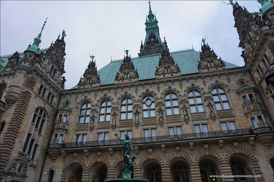 Qué ver en Hamburgo en un día, Interior del Ayuntamiento