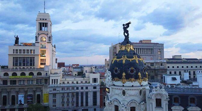 Terraza del Hotel Principal, una de las mejores vistas de Madrid