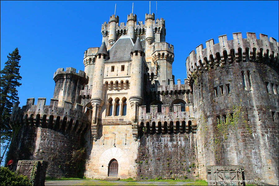 Castillo de Butrón un castillo medieval de cuento