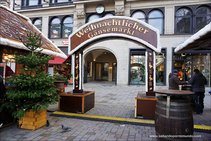 Hamburgo en un día. Visitar los Mercadillos de Navidad.