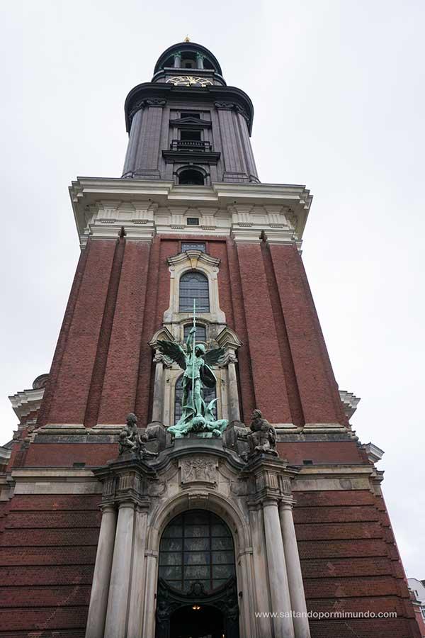 Qué ver en Hamburgo en un día, Iglesia de San Miguel