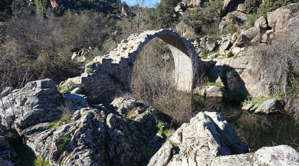 Puente de Alcanzorla, un puente de la época de Al-Andalus en Madrid