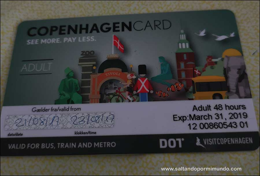 Copenhaguen Card ¿Merece la pena comprarla?