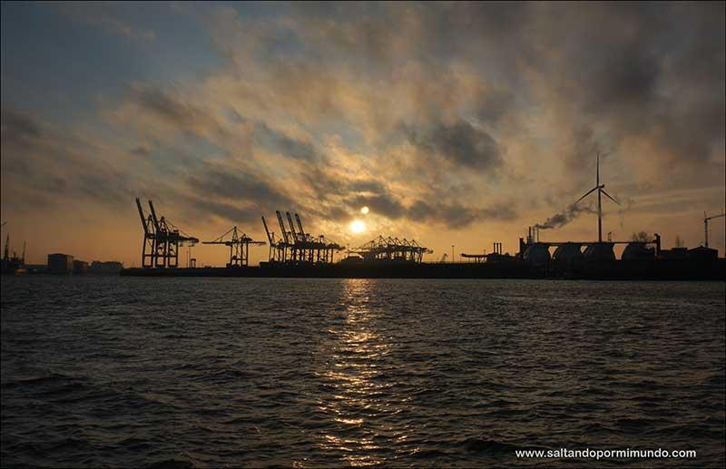 Qué hacer en Hamburgo en dos días, crucero por el Elba