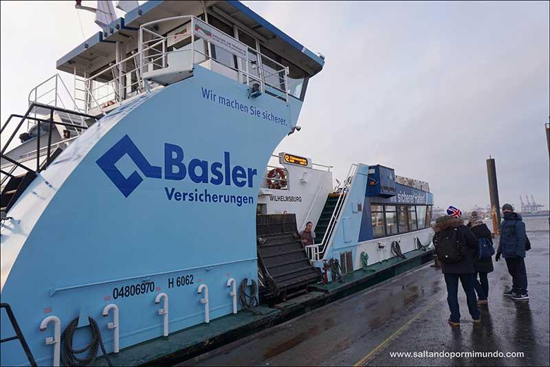 Qué ver en Hamburgo en dos días, Crucero por el Elba