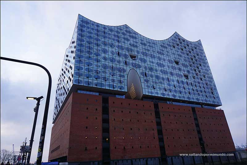 Qué ver en Hamburgo en dos días, la filarmónica del Elba