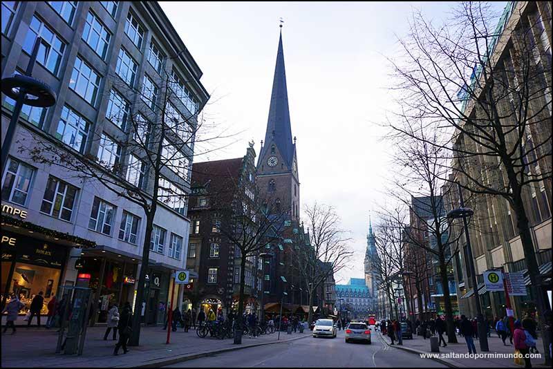 Las mejores vistas de Hamburgo desde el mirador de la torre de la Iglesia de San Pedro