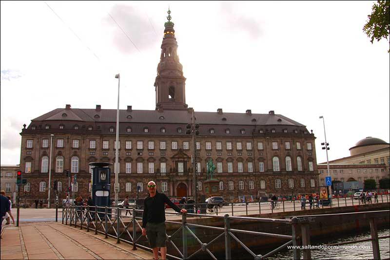 Palacio de Christiansborg, uno de los mejores miradores de CopenhaguePalacio de Christiansborg, uno de los mejores miradores de Copenhague