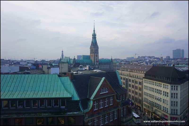 ¿Las mejores vistas de Hamburgo? Desde la Torre de San Pedro