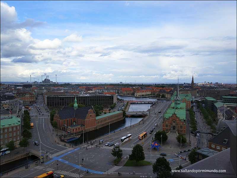 Palacio de Christiansborg, uno de los mejores miradores de Copenhague